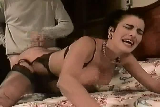 Pierced tongue ring slut